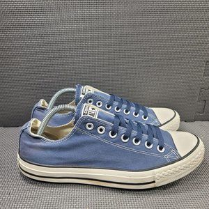 Mens Sz 11 Blue Converse Low Top Sneakers
